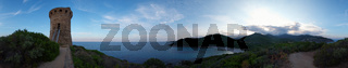 360 Grad Panorama Fautea - Korsika