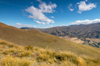 Landscape scenery in south New Zealand