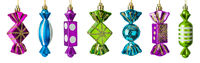 Candy sweets - christmas tree toys
