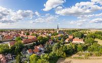 Ditfurt district Harz aerial photograph