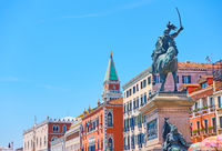 Monument to Vittorio Emanuele II in Venice