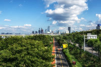yeouido view with han river park