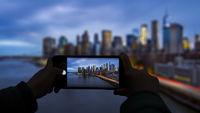 Smartphone photo Manhattan