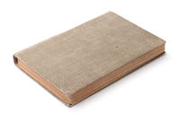 Old blank hardcover book