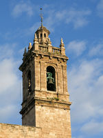 Tower of the San Nicolas Cathedral, Valencia.