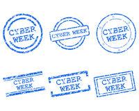 Cyber_week Stempel - Cyber_week stamps