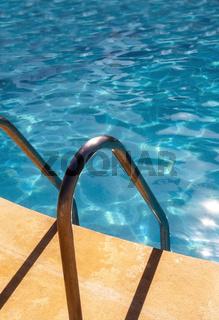 Detail eines Schwimmbeckens