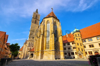 Rothenburg Stadtkirche St. Jakob - Rothenburg in Germany, the church St. Jakob