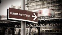 Street Sign to CLIMATE PROTECTION