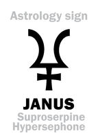 Astrology: planet JANUS