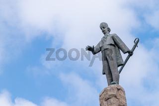 Statue of Avram Iancu in Cluj-Napoca, Romania