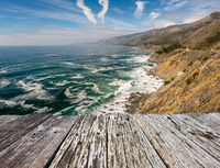 USA Pacific coast landscape, California
