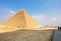 Pyramids at Giza Cairo Egypt
