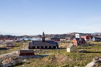 View over Ilulissat, Greenland