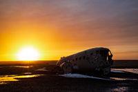 The plane wreck in Solheimasandur, Iceland