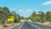Roadside Fatigue Warning Sign