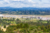 Overview Medellin Rionegro Airport MDE