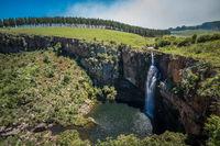 Berlin waterfall in Mpumalanga, South Africa