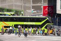 Passengers on the Flixbus