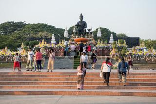 ASIA THAILAND SUKHOTHAI KING MONUMENT
