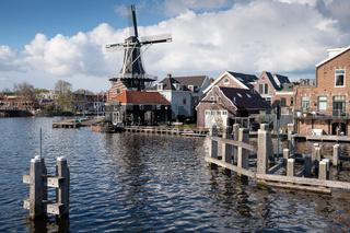 City center of Haarlem, Netherlands