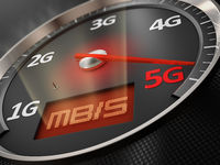 Car speedometer 5G