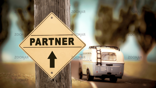 Street Sign to Partner