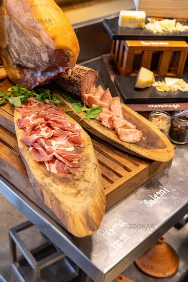 Parma Ham leg