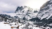 alpine mountain village