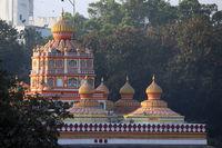 Omkareshwara temple dom, Narayan peth, Pune, Maharashtra, India