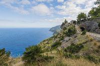 Majorca Landscape northern coastal highway