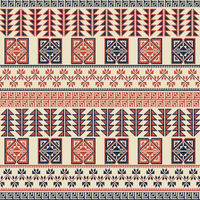 Palestinian embroidery pattern 41