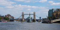 By boat on the Thames to