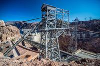 hoover dam nevada arizona state line surraoundings