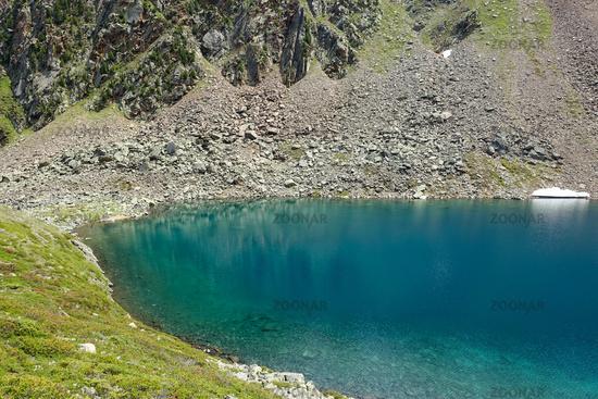 Schönrinnenkarsee in Osttirol, Ötztal, Austria
