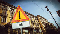 Street Sign to Jail