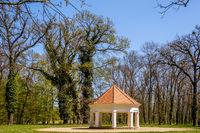 Old English castle park