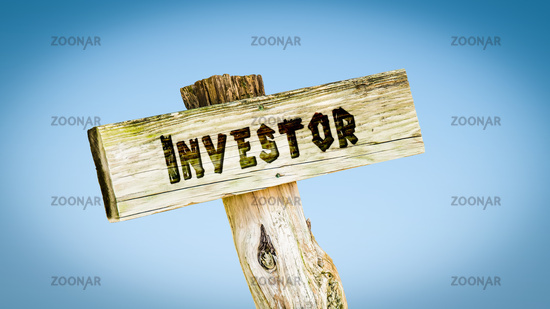 Street Sign to Investor