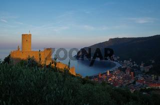 Festungsanlage von Noli - Ligurien - Italien