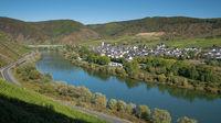 Bruttig-Fankel, Moselle, Germany, Europe