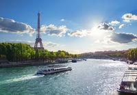 River in Paris