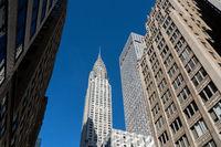 Chrysler Building in Manhattan, NYC