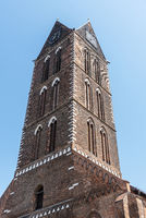 St. Mary´s church, Wismar, Mecklenburg-Western Pomerania, Germany, Europe