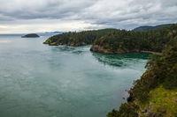 Deception Pass in Washington state