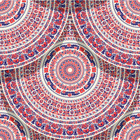 Hungarian motif tile 7
