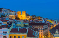 Fmous Lisbon Cathedral Portugal