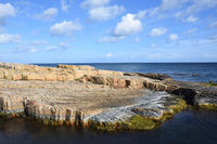 Coast in sweden on the baltic sea