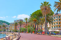 Waterfront in Rapallo