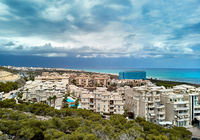 Alicante cityscape. Costa Blanca. Spain