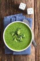 Fresh Cream of Broccoli Soup